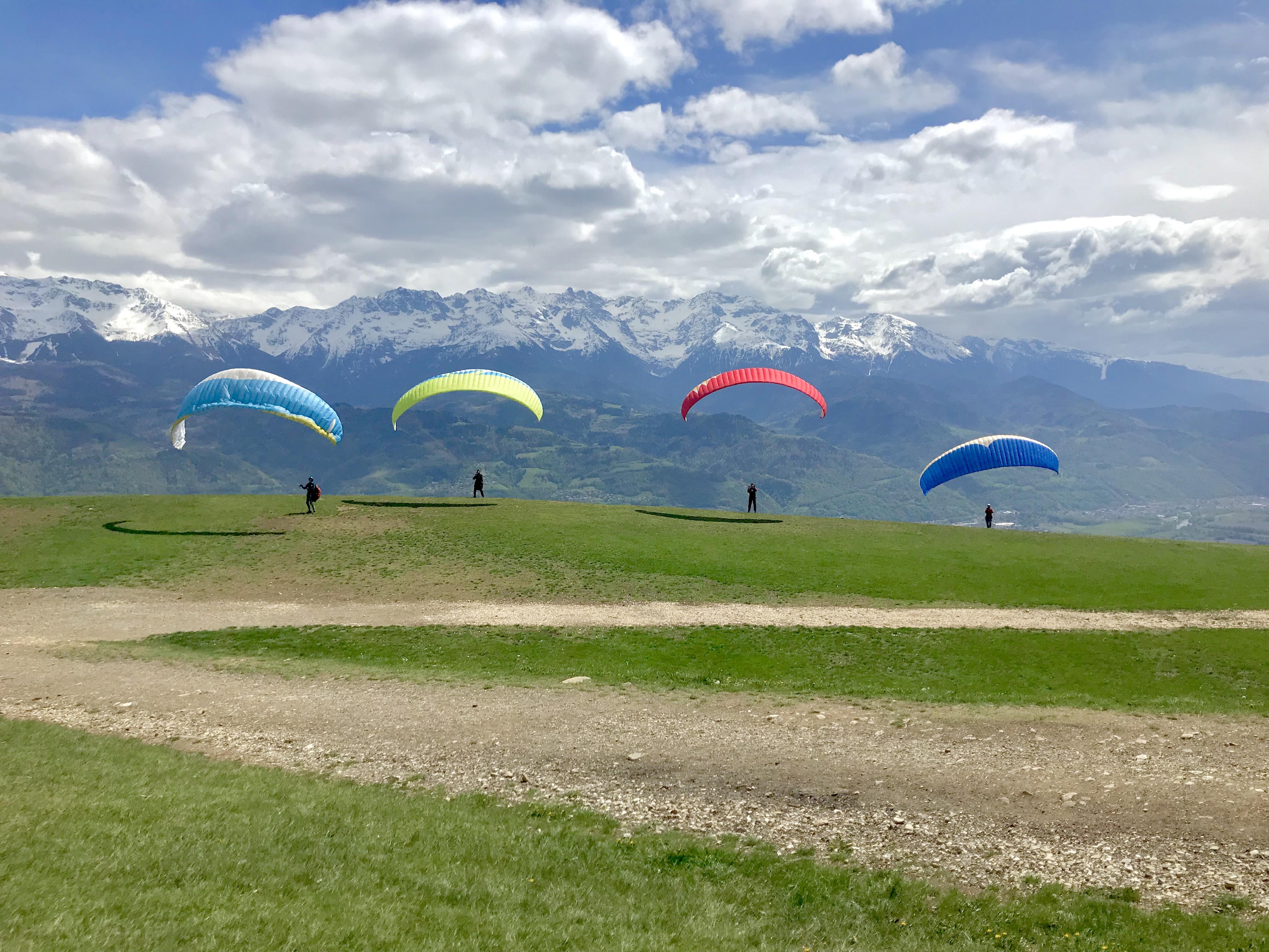 site réputé guetter découvrir les dernières tendances I PARAPENTE I 1 stage de parapente initiation dans les Alpes ...